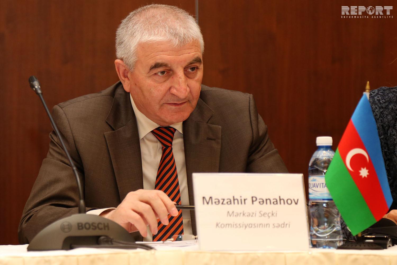 Мазахир Панахов находится с визитом в России