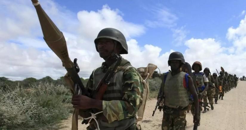 Somalidə 50-dən çox terrorçu məhv edilib