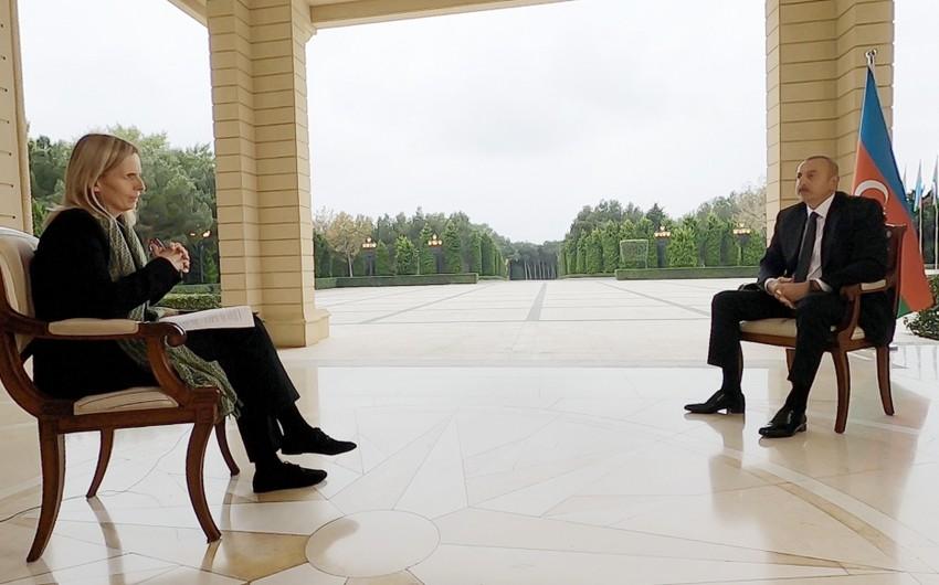 Prezident: Bu, sual deyil, ittihamdır, siz prokuror kimi danışırsınız...