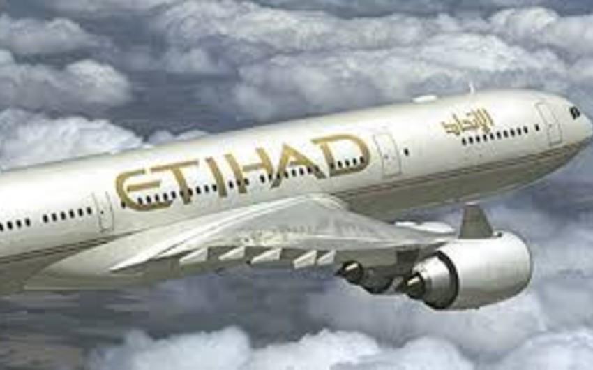 """""""Etihad Airways"""" həftədə 1088 nəfəri Bakıya gətirəcək"""