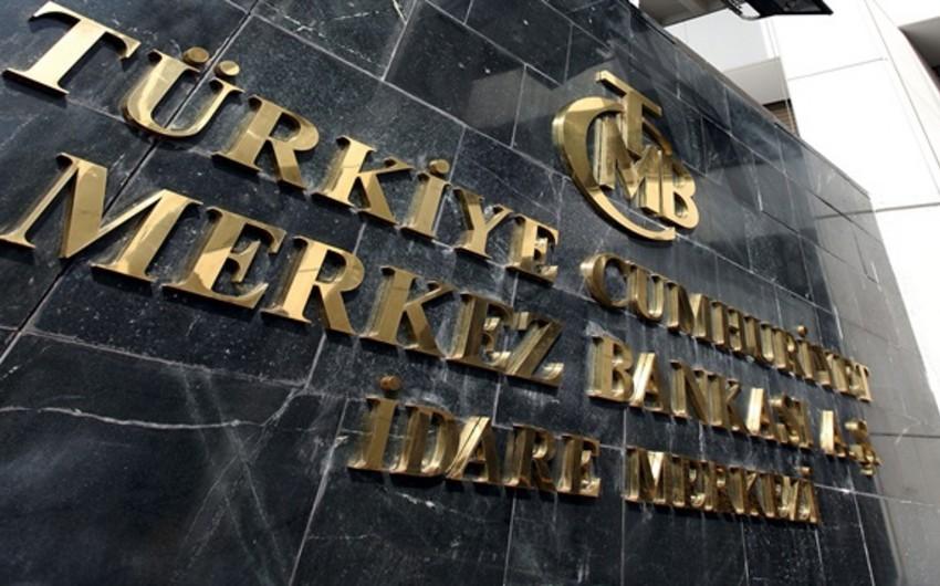 Türkiyə Mərkəzi Bankı faizləri artırıb