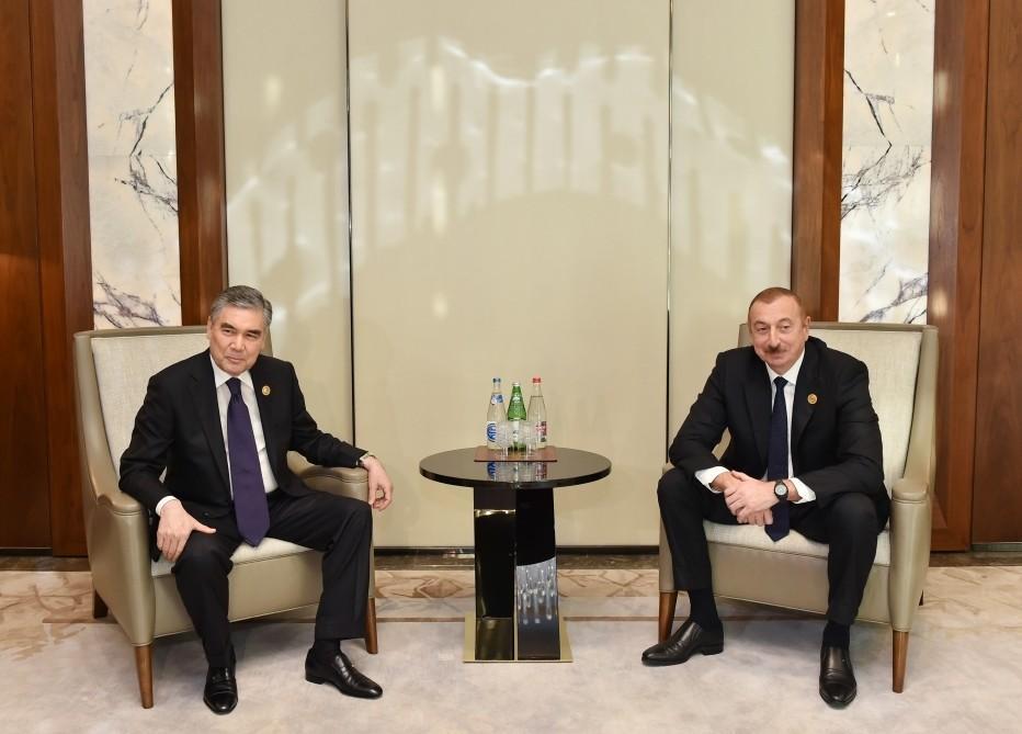 Президент Азербайджана Ильхам Алиев встретился с президентом Туркменистана - ОБНОВЛЕНО