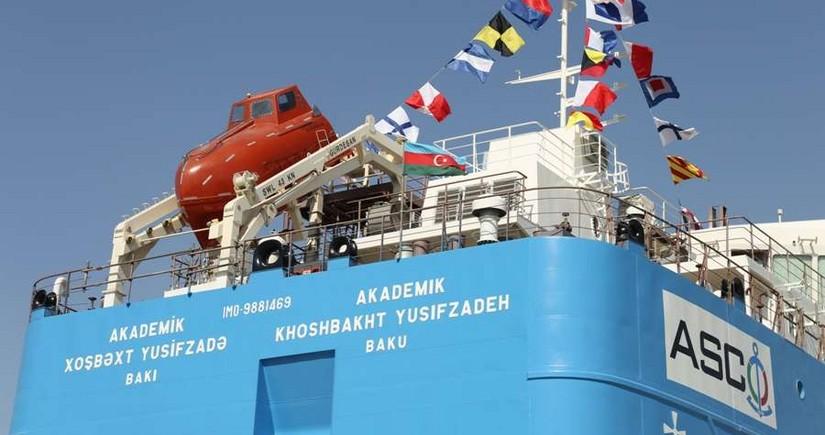 """""""Akademik Xoşbəxt Yusifzadə"""" tankeri suya salınıb"""