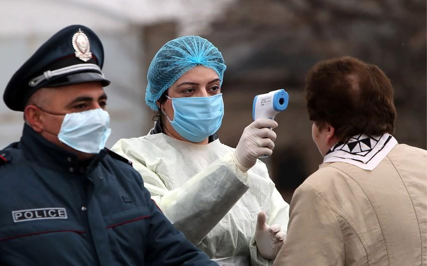 Ermənistanda koronavirusa yoluxanların sayı 3 538-ə çatıb, 47 nəfər ölüb