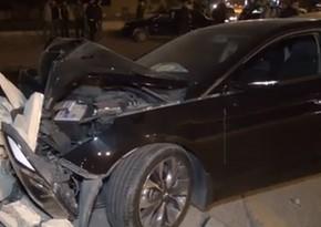 В Губе столкнулись автомобили, есть пострадавшие