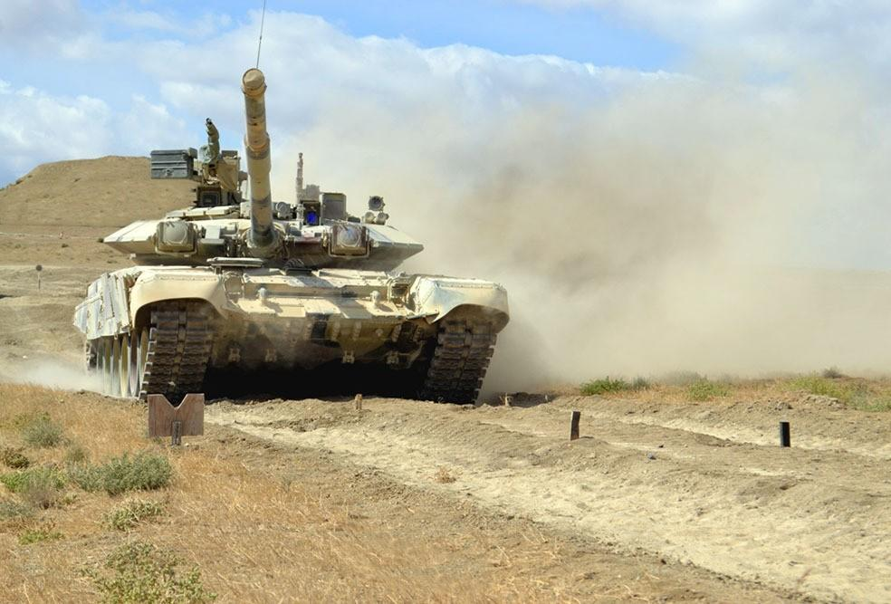 Сompetition for title of best tank company starts in Azerbaijani army