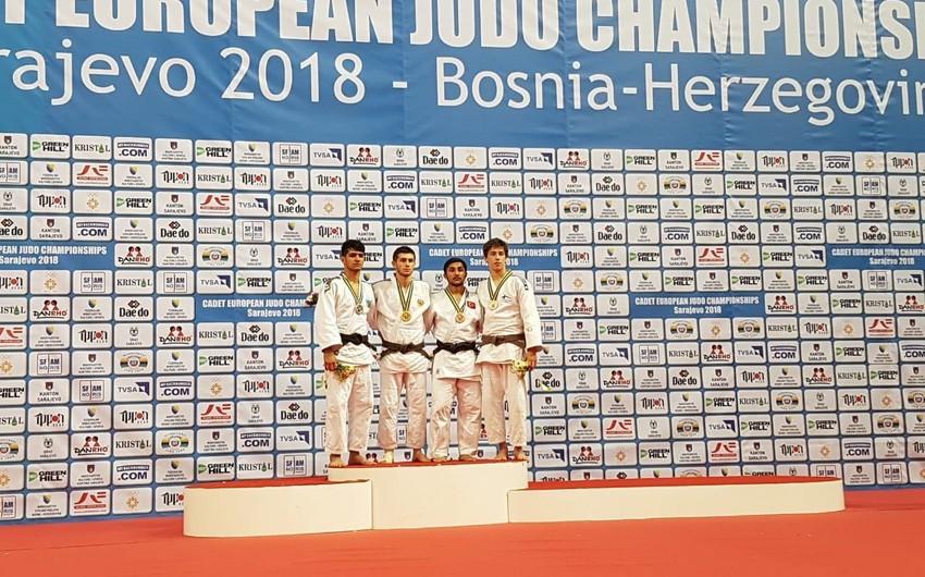 Azərbaycan cüdoçuları Avropa birinciliyində iki medal qazanıblar