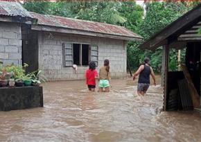 Число жертв тайфуна на Филиппинах достигло 19 человек
