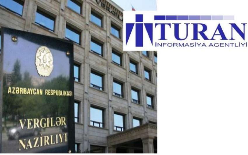 """Vergilər Nazirliyi """"Turan"""" İnformasiya Agentliyinin bank hesablarını açıb"""