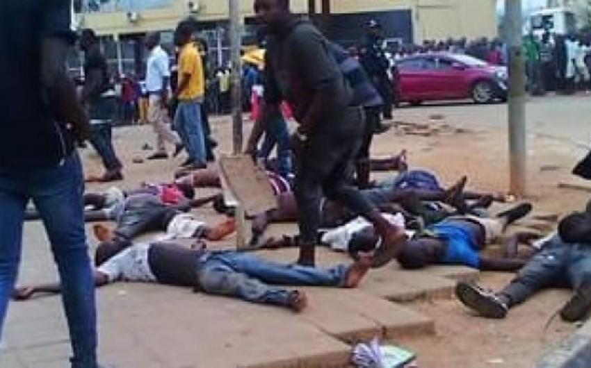Anqolada stadionda basırıq zamanı 17 nəfər ölüb - VİDEO