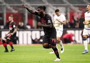Серия А: Миланобыграл Верону, уступая в счете 0:2