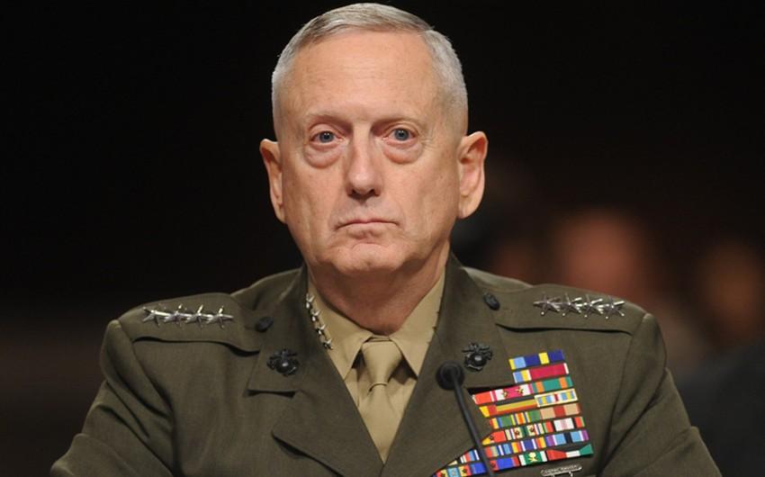Tramp ABŞ-ın müdafiə naziri postuna Mettisin namizədliyini irəli sürüb