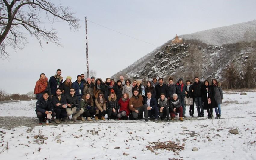 Beynəlxalq multikulturalizm qış məktəbinin iştirakçıları Qax rayonu ilə tanış olublar
