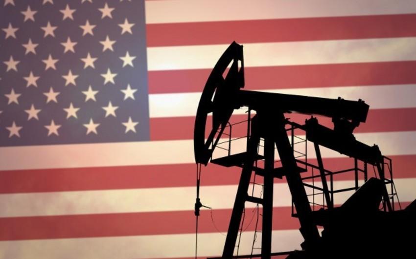 ABŞ-ın neft hasilatı sabit qalıb