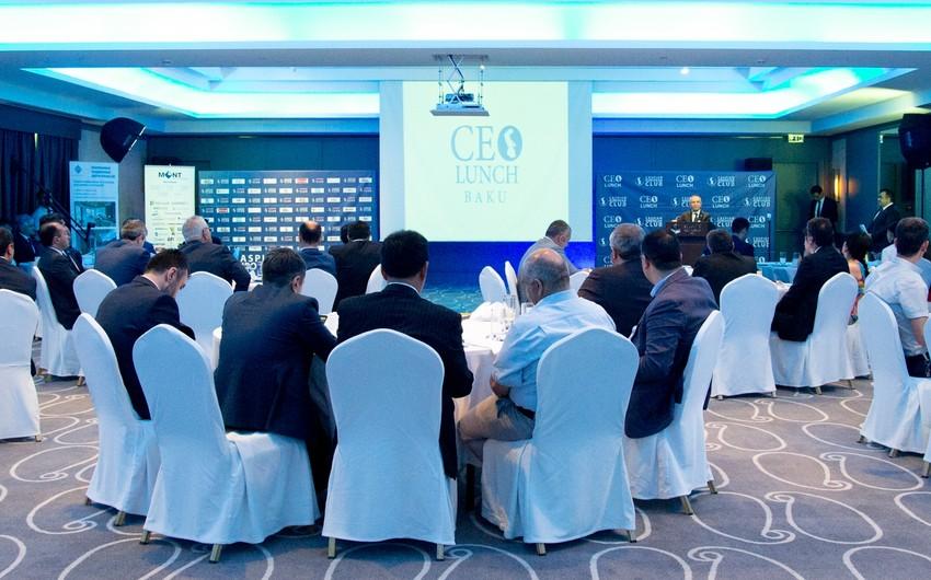 Fifth CEO Lunch was held in Baku