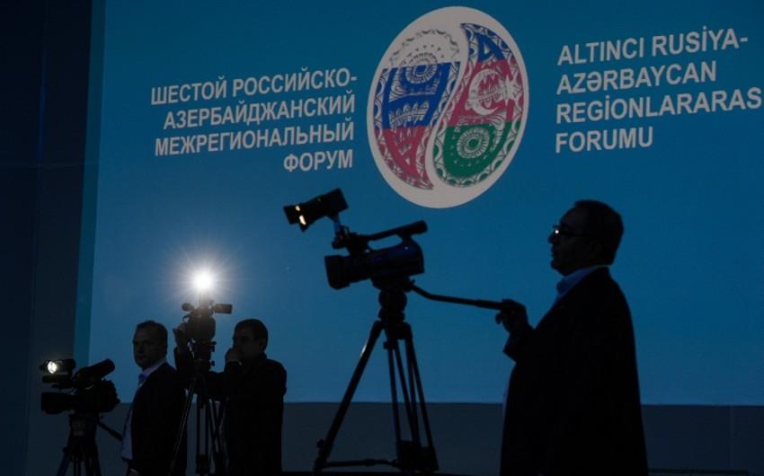 Rusiyanın 75-dən çox regionu Azərbaycanla daimi ticari-iqtisadi əlaqəyə malikdir