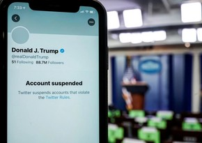 """Trampın hesabını bloklayan """"Twitter""""in səhmləri ucuzlaşır"""