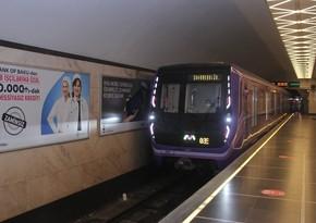 Bakı metrosu bu ilin sonuna qədər 17 vaqonunu utilizasiyaya göndərəcək