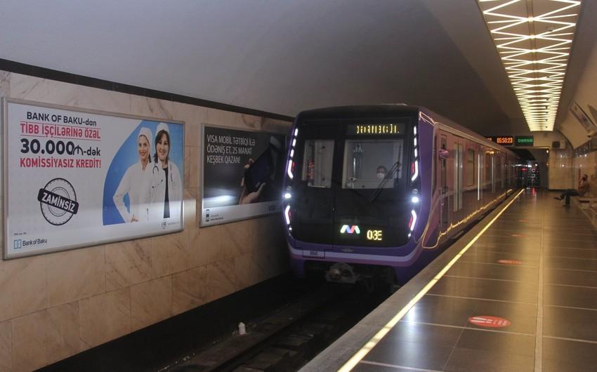 Бакинский метрополитен отправит на утилизацию 17 вагонов