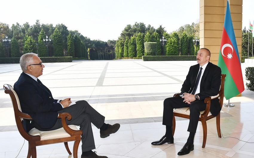 """İlham Əliyevin """"La Repubblica""""ya müsahibəsi - Ermənistanın növbəti ifşası"""