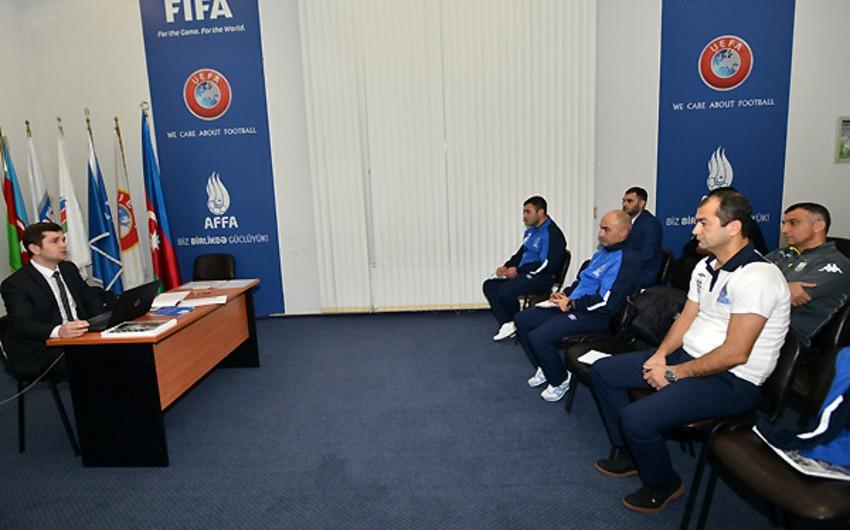 AFFA-nın təşkilatçılığı ilə UEFA-nın Pro kateqoriyalı məşqçi kursunun V mərhələsi başlayıb