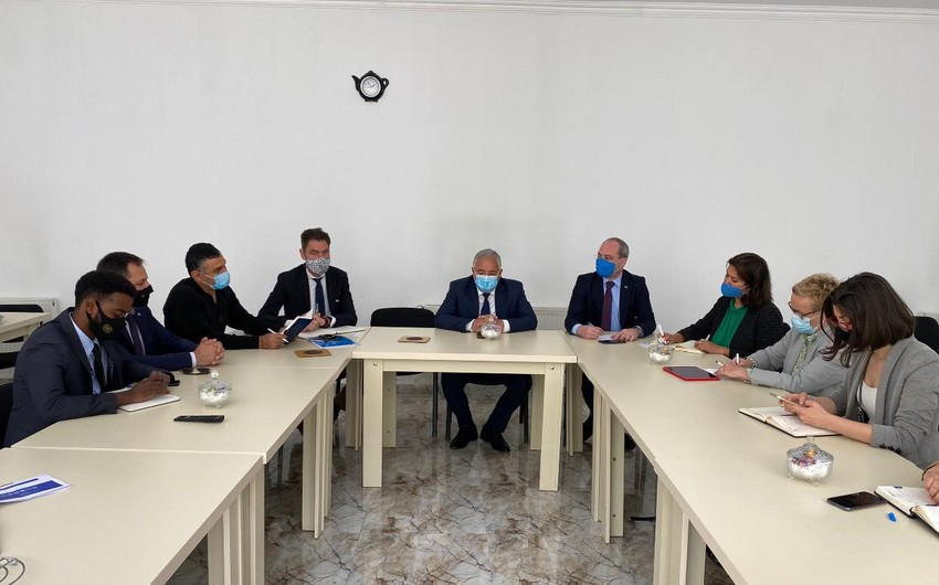 Миссия ООН посетила Агдамский район