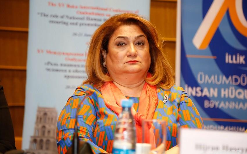 Hicran Hüseynova: Azərbaycanda insan hüquqlarının qorunması üçün güclü komanda yaranıb