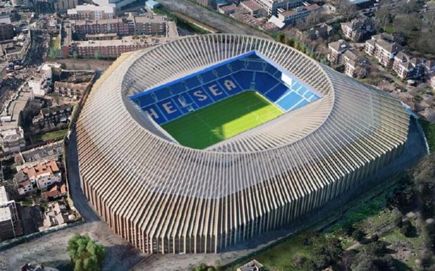 Çelsi klubu yeni stadionunun tikintisinə 1,11 milyard avro xərcləyəcək