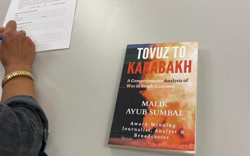 """""""Tovuzdan Qarabağa kitabı ABŞ muzeyinə hədiyyə olunub"""