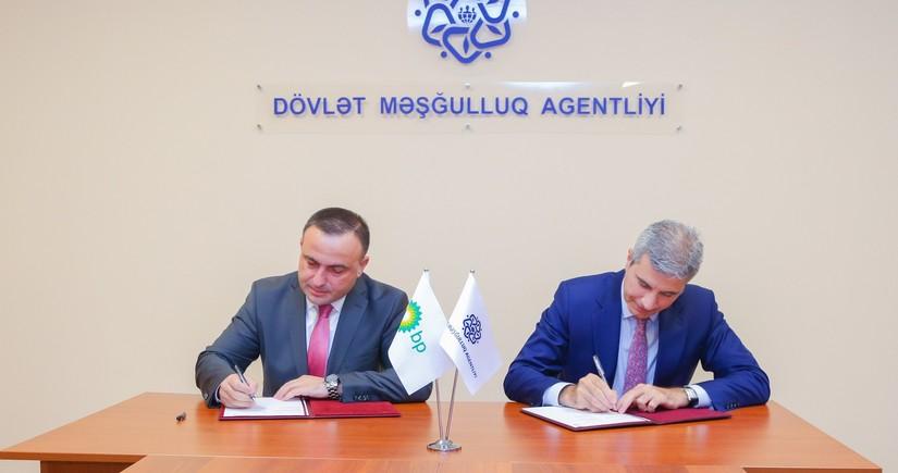 Dövlət Məşğulluq Agentliyi ilə BP şirkəti arasında memorandum imzalanıb