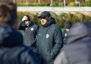 Aftandil Hacıyev: Özünü yaxşı hiss etməyən futbolçularımız var