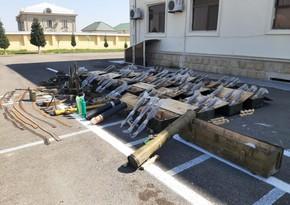 В Физули обнаружено значительное количество оружия и боеприпасов