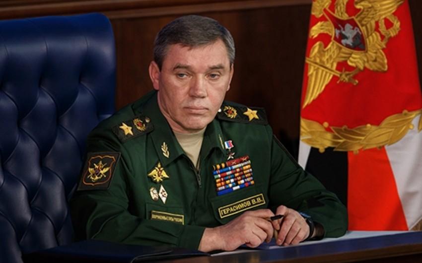 Глава Генштаба России проведет встречу с начальником Генштаба ВС Азербайджана