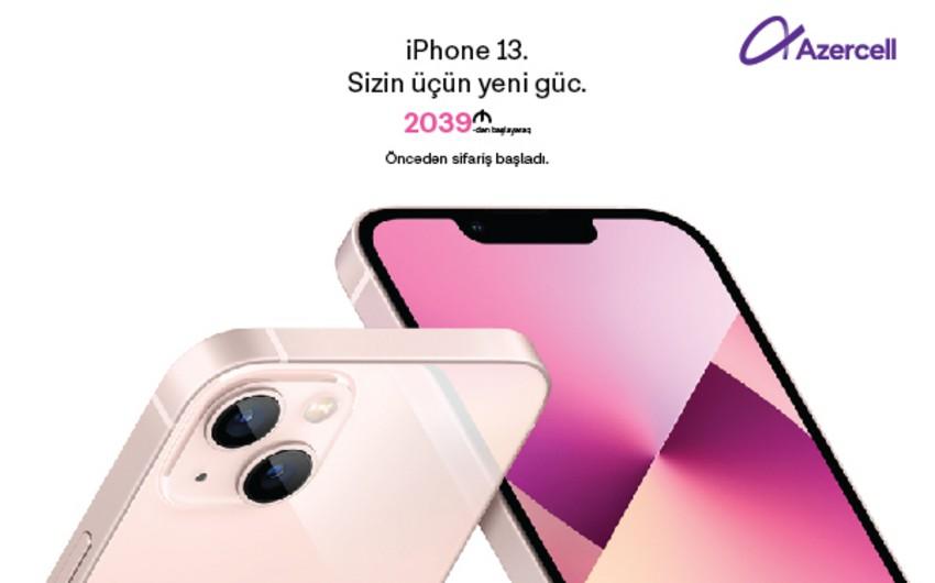 Azercelldən iPhone 13, iPhone 13 Pro və iPhone 13 Mini əldə edin və 3 ay ərzində  50GB pulsuz mobil internetdən yararlanın!
