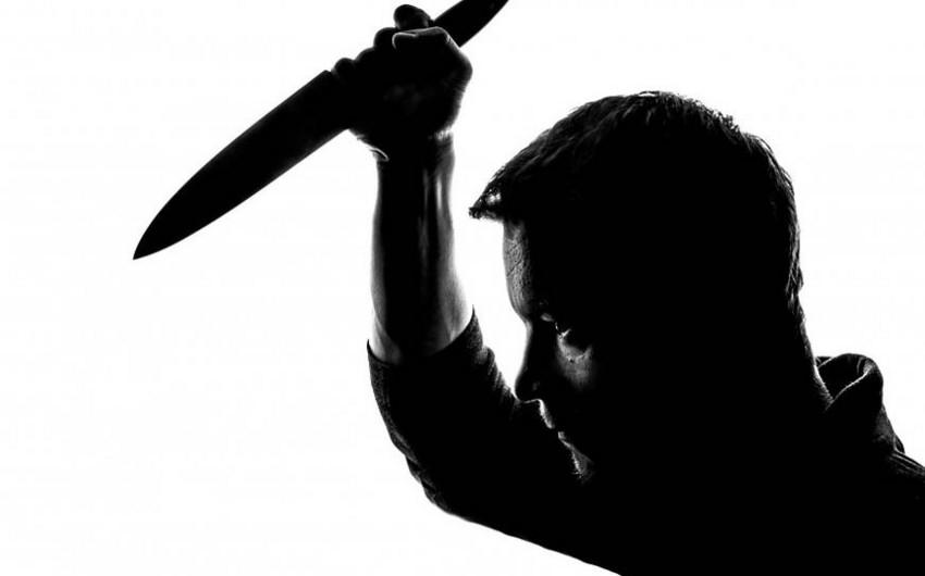 Gəncədə 36 yaşlı kişi bıçaqlanıb