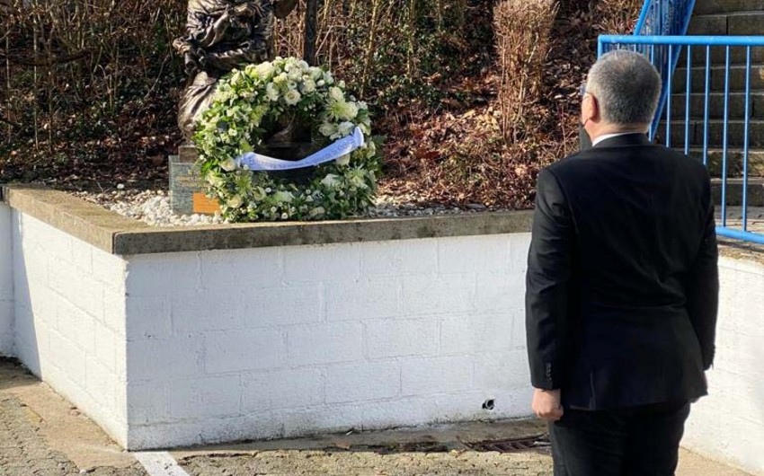 Azerbaijanis in Belgium commemorate victims of Khojaly genocide