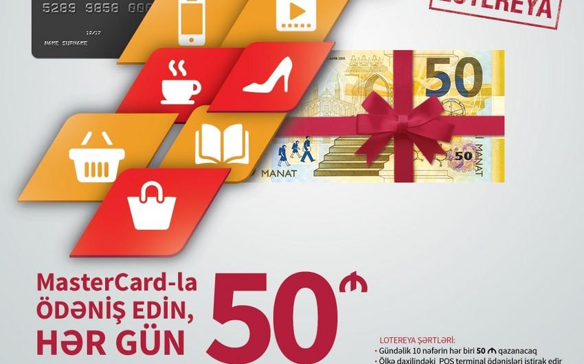 """""""Kapital Bank""""ın 100-dən artıq kart sahibinin hər biri 50 manat qazanıb"""