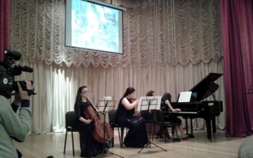 Beynəlxalq müsabiqələr laureatının konserti olub