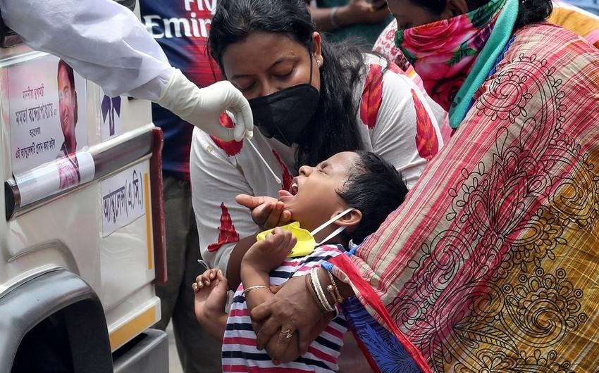 Hindistanda pandemiya təhlükəsi getdikcə artır