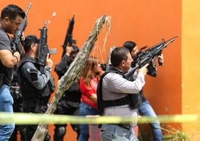 Meksikada narkokartellərin toqquşması zamanı 8 nəfər öldürülüb