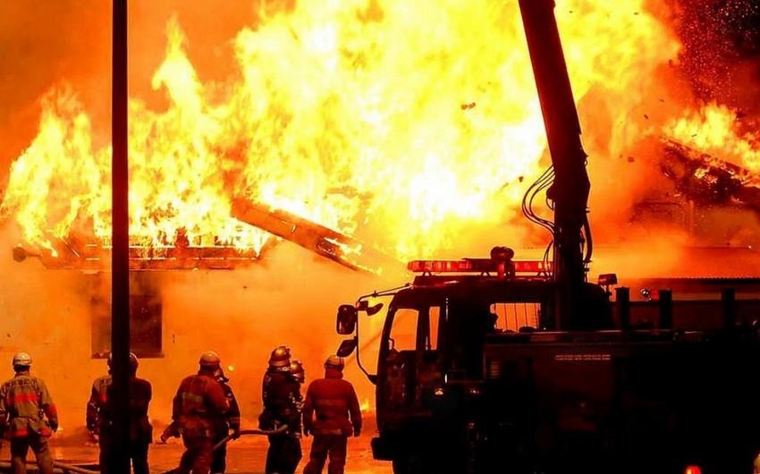 Yaponiyada yanğın zamanı 6 nəfər ölüb