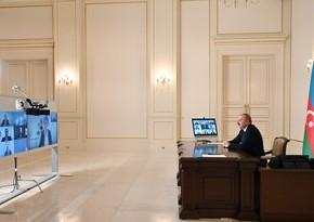 Ильхам Алиев принял нового президента ЕБРР в видеоформате