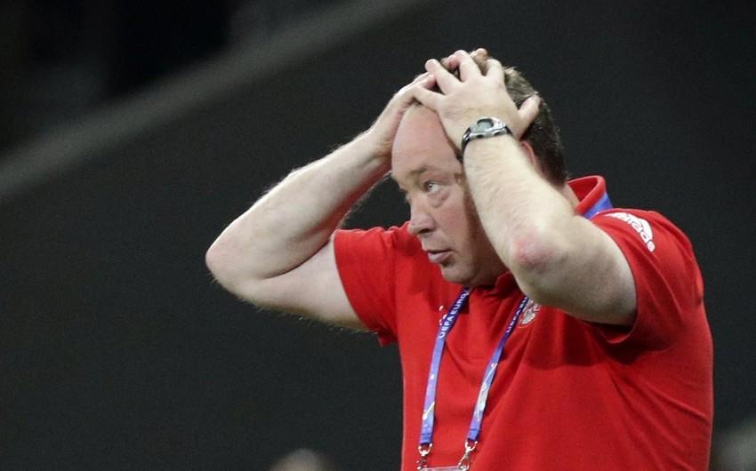 Leonid Slutski futbol üzrə Rusiya milli komandasının baş məşqçi postundan istefa verəcək