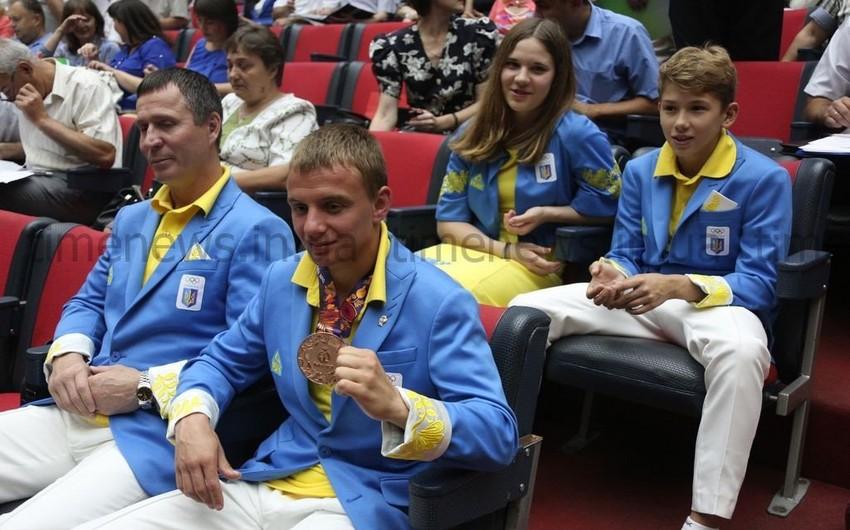В Запорожье прошло чествование участников I Европейских игр