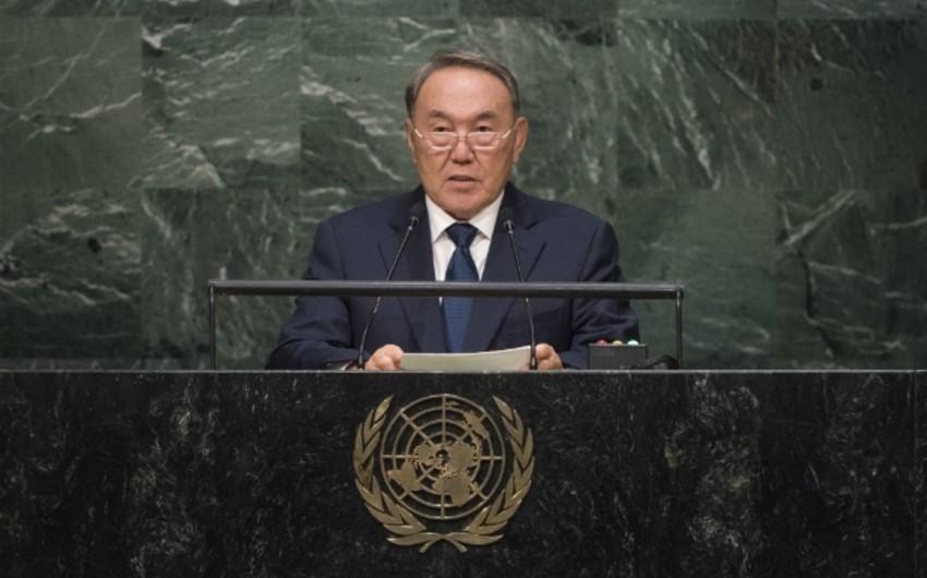 Nazarbayev BMT baş qərargahının Asiyaya köçürülməsini təklif edib