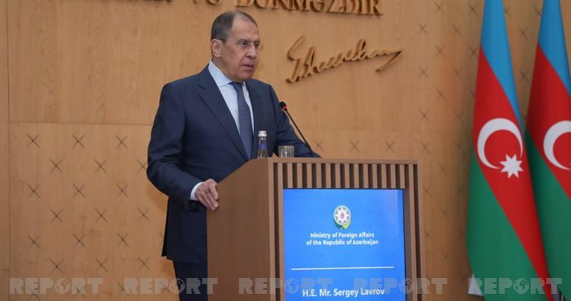 Lavrov Putinlə Bayden arasında mümkün görüşdən danışdı