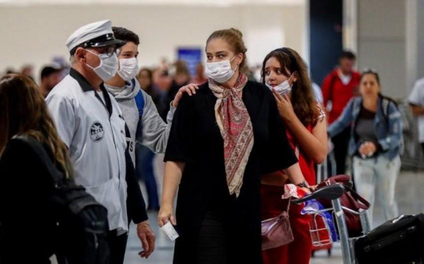 Braziliyada koronavirusdan ölənlərin sayı 3 minə yaxınlaşır