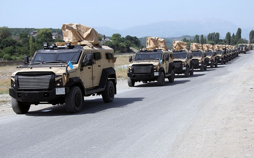 Troops participating in exercises are moving to operational areas