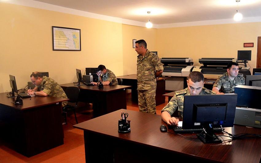 Azərbaycan ordusunda ən yaxşı topoqraf adı uğrunda yarış keçirilir