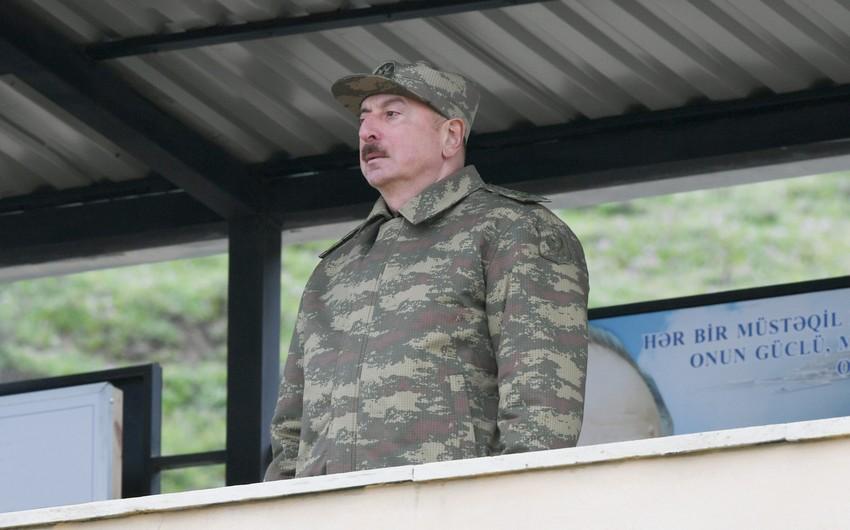 """Prezident: """"Ermənistan ərazilərdən dərhal çıxmağa başlasa, diplomatiya işləyə bilər"""""""